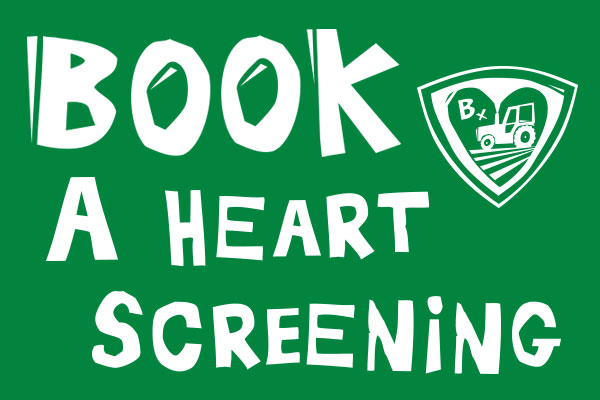 Book a heart screen appointment on this link - opens in a new window
